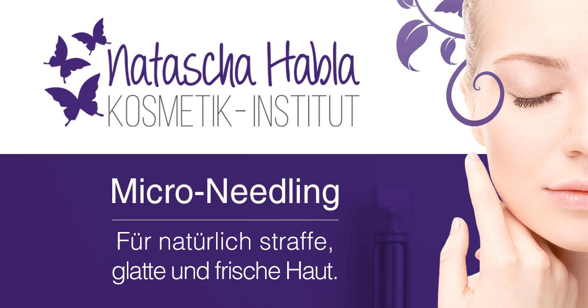 Micro-Needling im Kosmetik-Institut Natascha Habla in Neulengbach